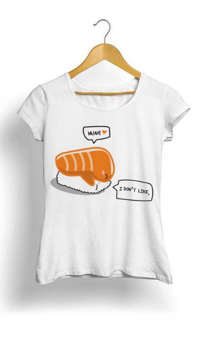 Camiseta Feminina Tropicalli Sashimi Squash