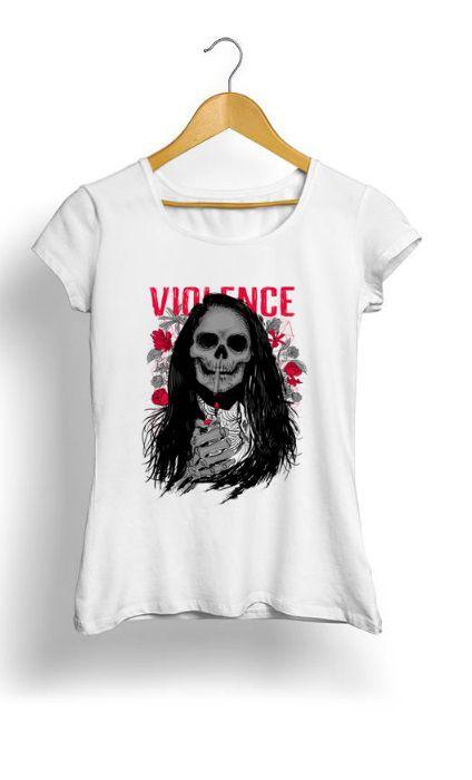 Camiseta Feminina Tropicalli Violence