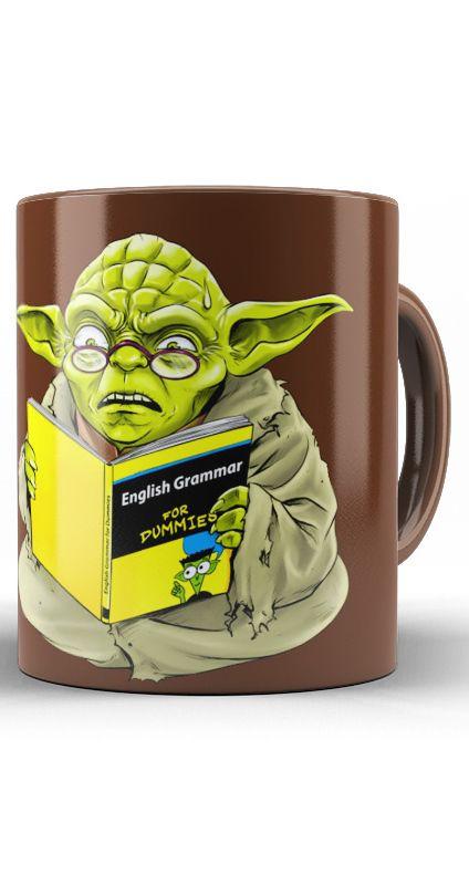 Caneca Star Wars Yoda Man