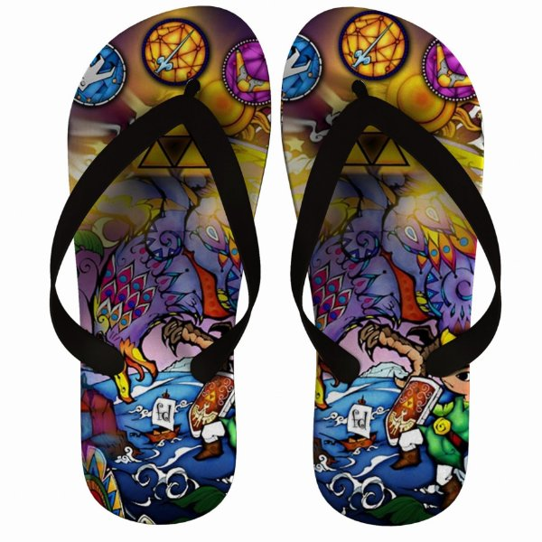 Chinelo The Legend Of Zelda : Phantom Hourglass - Nerd e Geek - Presentes Criativos