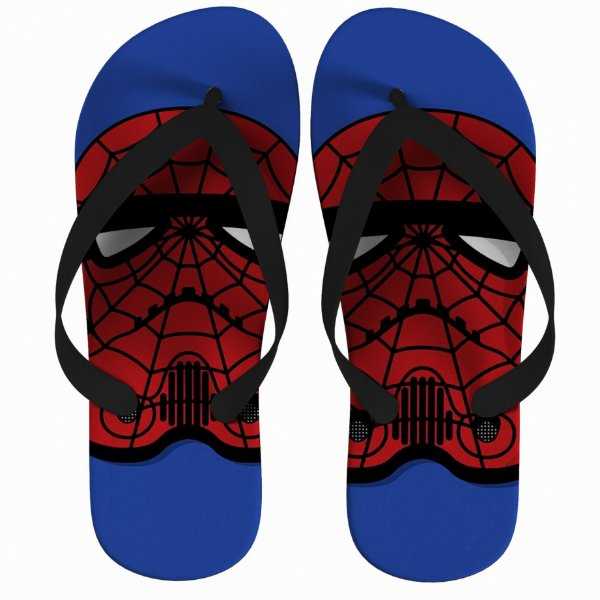 Chinelo Star Wars Spider-Man Strompers