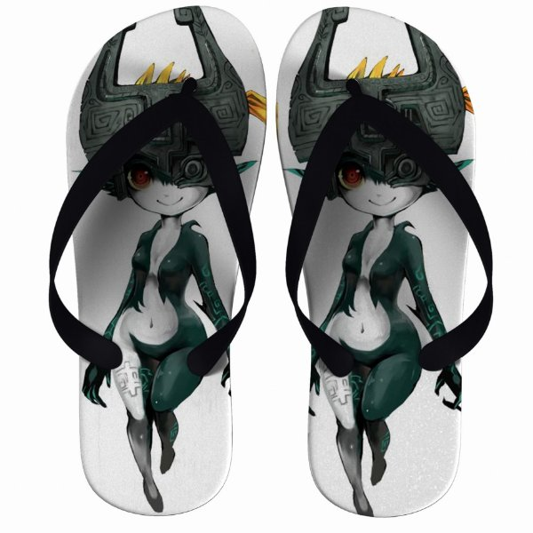 Chinelo The Legend Of Zelda Midna - Nerd e Geek - Presentes Criativos