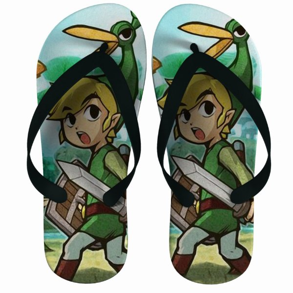 Chinelo Green The Legend Of Zelda : Link Go - Nerd e Geek - Presentes Criativos