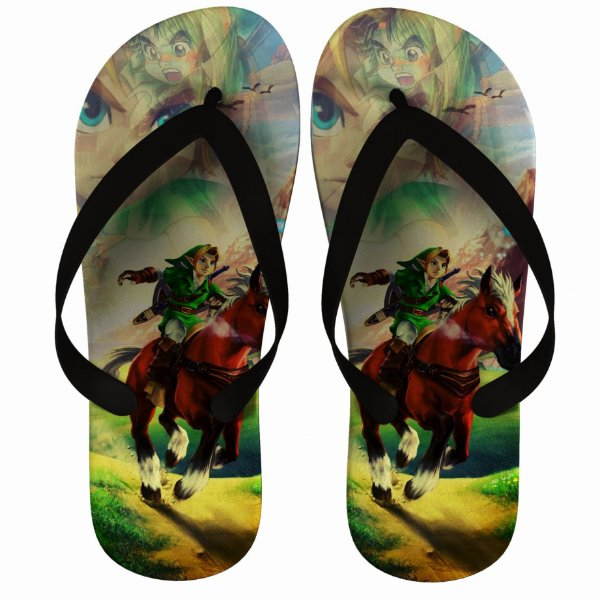 Chinelo The Legend Of Zelda Link Warrior - Nerd e Geek - Presentes Criativos