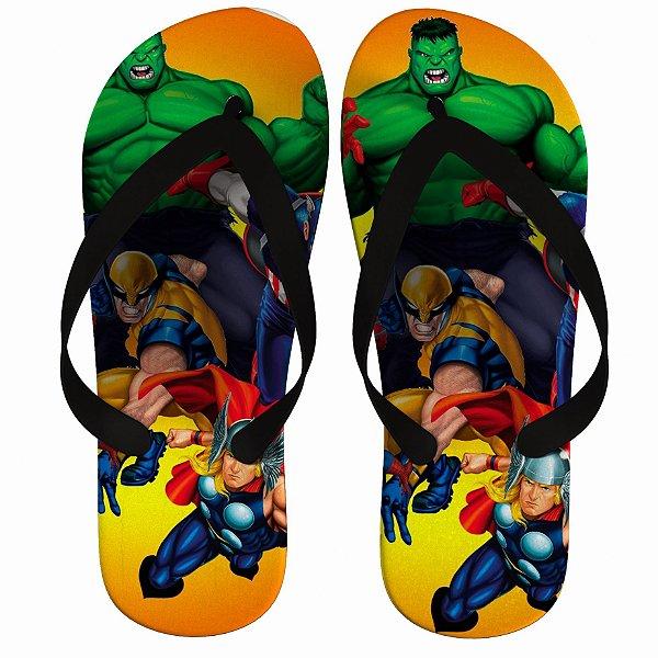 Chinelo Liga da Justiça : Hulk