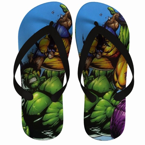 Chinelo Hulk VS Wolverine