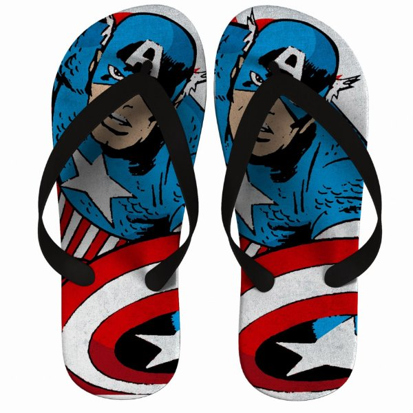 Chinelo Captain America