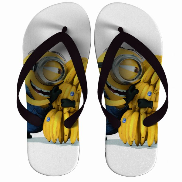Chinelo Minions Banana - Nerd e Geek - Presentes Criativos