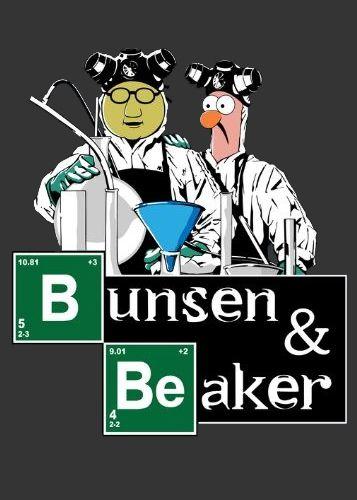 Camiseta Bunsen & Beaker