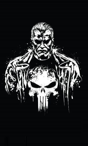 Camiseta Man Skull