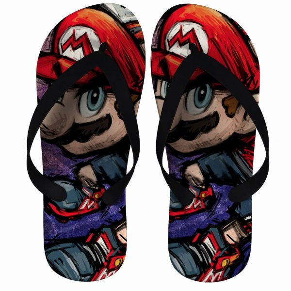 Chinelo Super Mario Bros