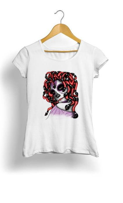 Camiseta Feminina Tropicalli Medusa Katrina