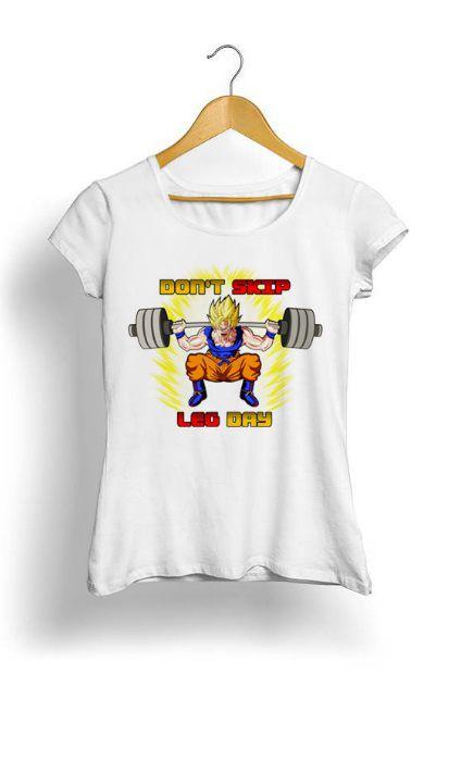 Camiseta Feminina Tropicalli Dont's Skip The Leg Day