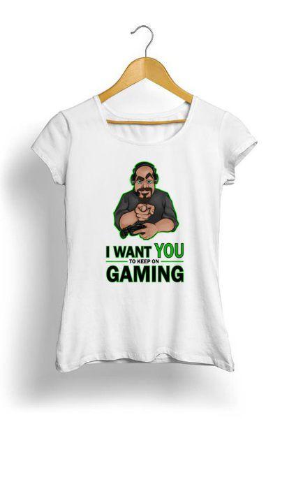 Camiseta Feminina Tropicalli I want you
