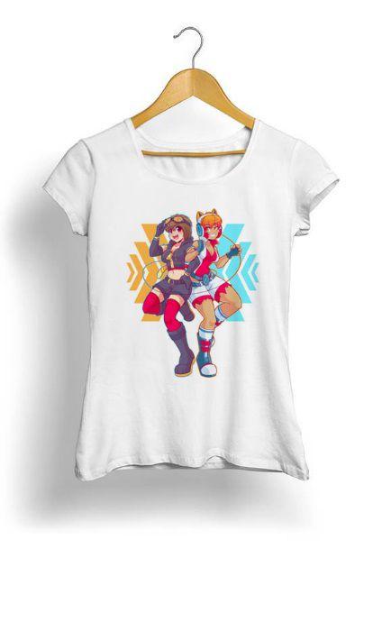 Camiseta Feminina Tropicalli CATASTROPHE FORCE