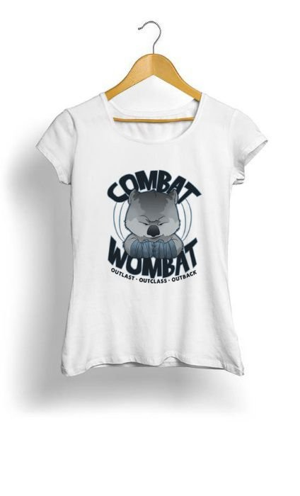 Camiseta Feminina Tropicalli Wombat Fight Shirt