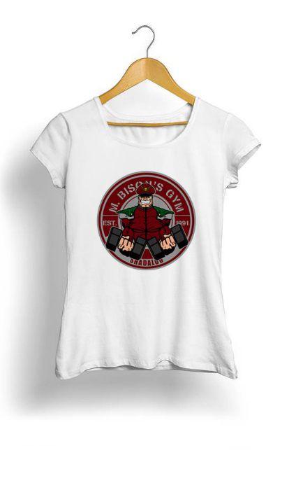 Camiseta Feminina Tropicalli M Bison's gym