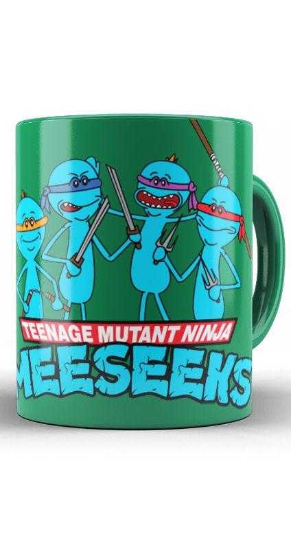 Caneca Teenage Mutant Ninja
