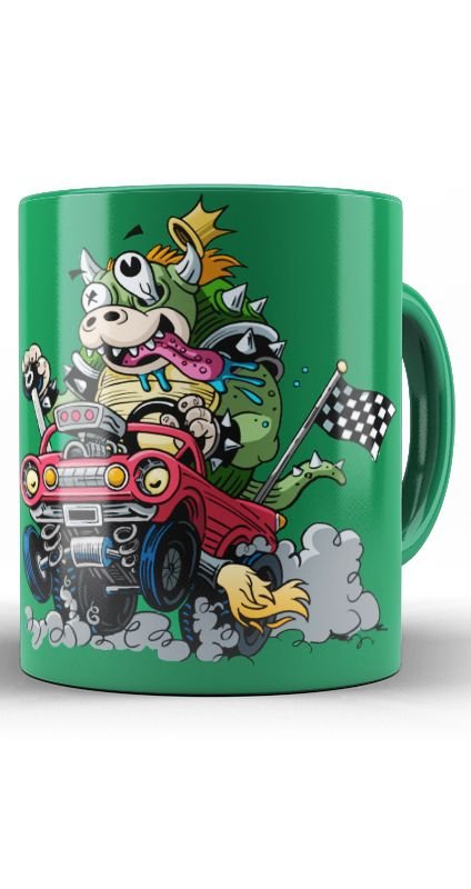 Caneca Super Mario Bros Bowser