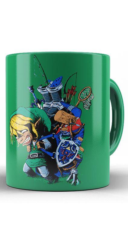Caneca The Legend Of Zelda Link Adventure