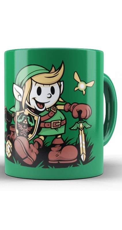Caneca The Legend Of Zelda - Link - Mickey Mouse