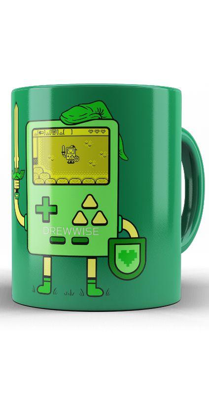 Caneca Game Boy - The Legend of Zelda