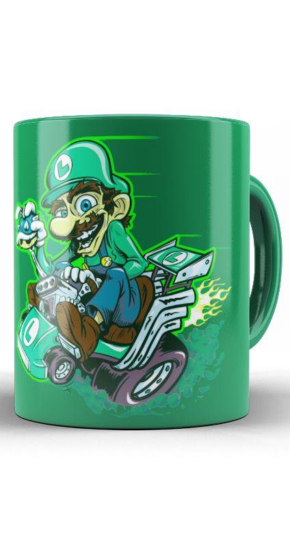 Caneca Luigi Kart