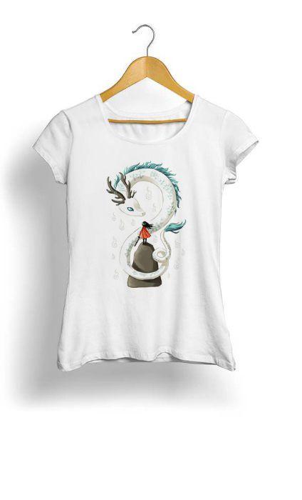 Camiseta Feminina Tropicalli Dragon Spirit