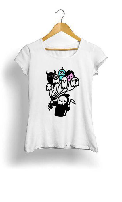 Camiseta Feminina Tropicalli Soul Collector Doodle