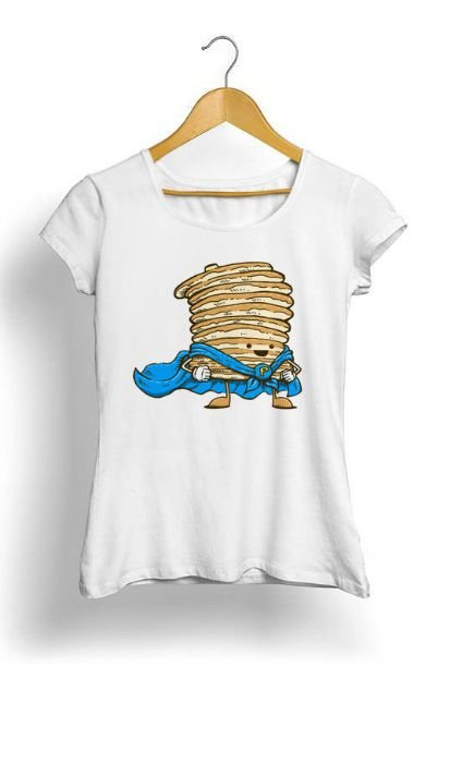 Camiseta Feminina Tropicalli Captain Pancake