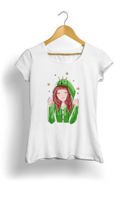 Camiseta Feminina Tropicalli Cactuar Onesie ft Varynne