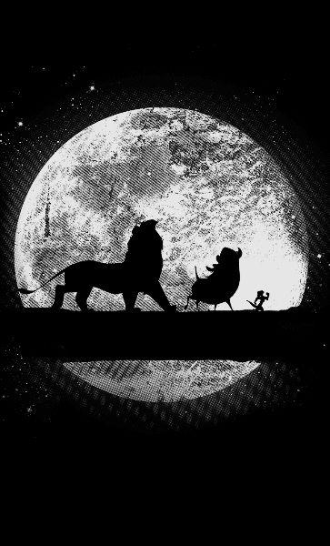 Camiseta  King Lion Night