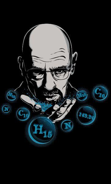 Camiseta  Heisenberg Chemical