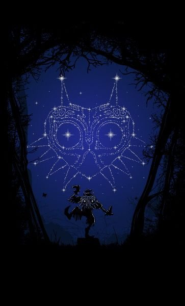 Camiseta Legend of Zelda  Majora Dreams