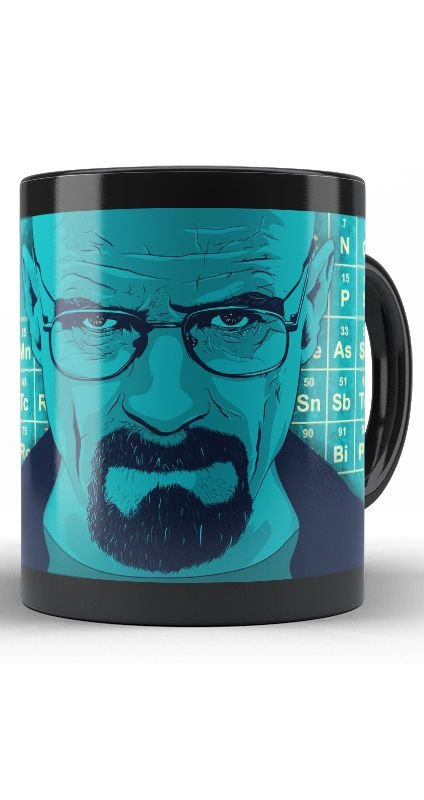 Caneca Breaking Bad Walter White - Nerd e Geek - Presentes Criativos