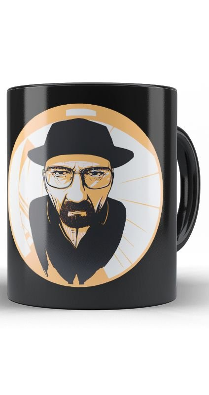 Caneca Breaking Bad The Heisenberg Detective