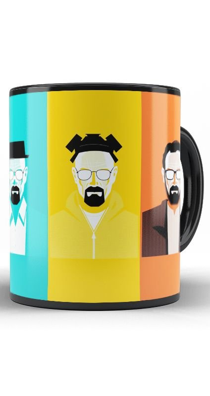 Caneca Breaking Bad Experiment - Nerd e Geek - Presentes Criativos