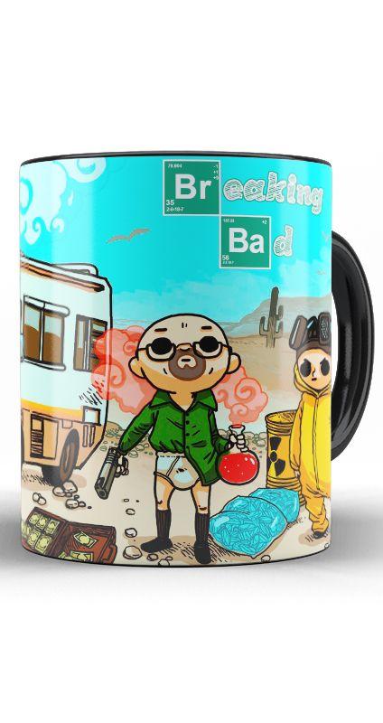 Caneca Danger Breaking Bad - Nerd e Geek - Presentes Criativos