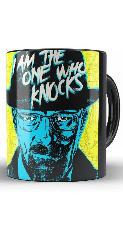 Caneca Breaking Bad - I am the one who Knocks