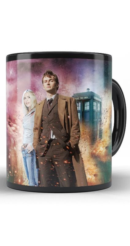 Caneca Police box - Doctor Who