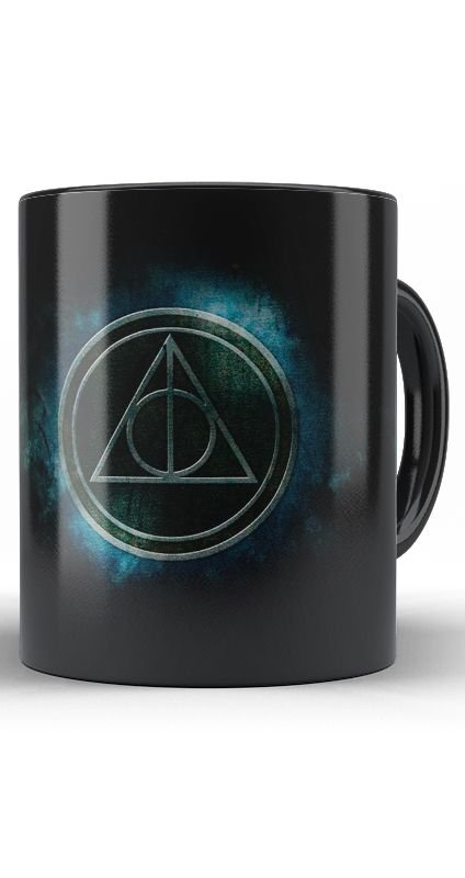 Caneca Harry Potter - Reliquias da Morte
