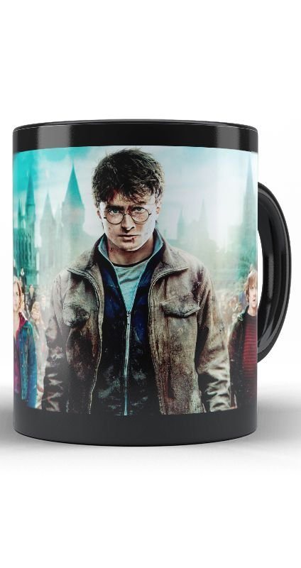 Caneca Hogwarts - Harry Potter