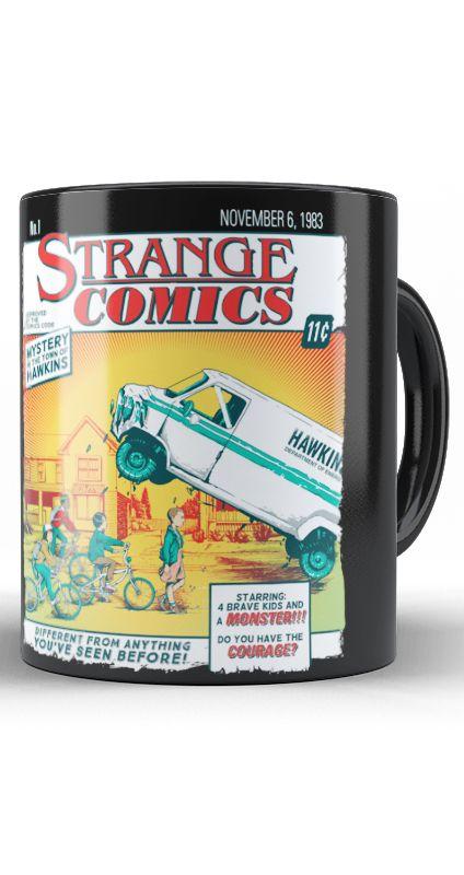 Caneca Stranger Comics