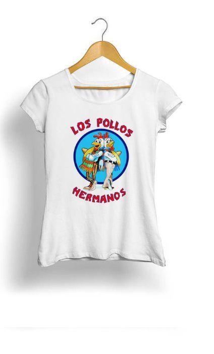 Camiseta Feminina Tropicalli Los Pollos