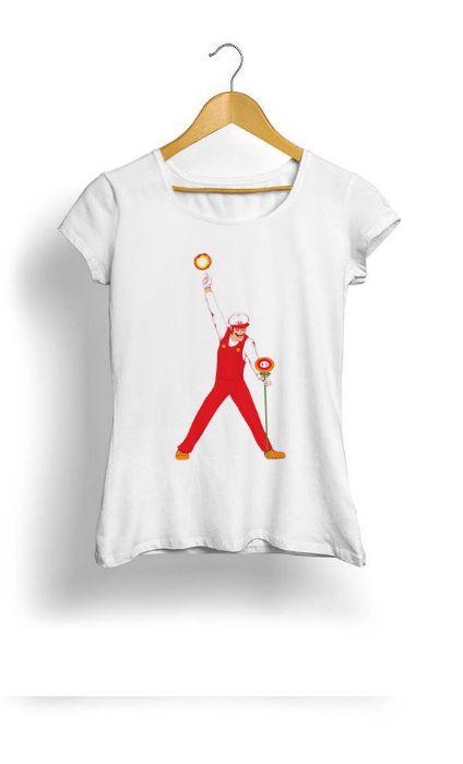 Camiseta Feminina Tropicalli Mario nifty