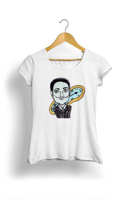 Camiseta Feminina Tropicalli Kokeshis Women in the History