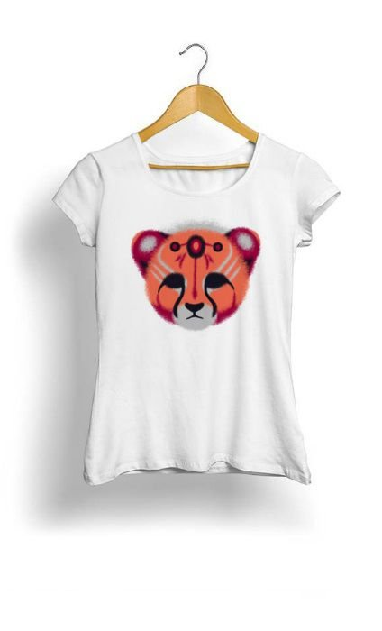 Camiseta Feminina leopard
