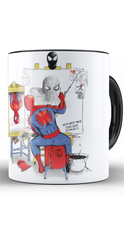 Caneca Spiderman Self