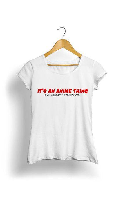 Camiseta Feminina Tropicalli It's an anime thing