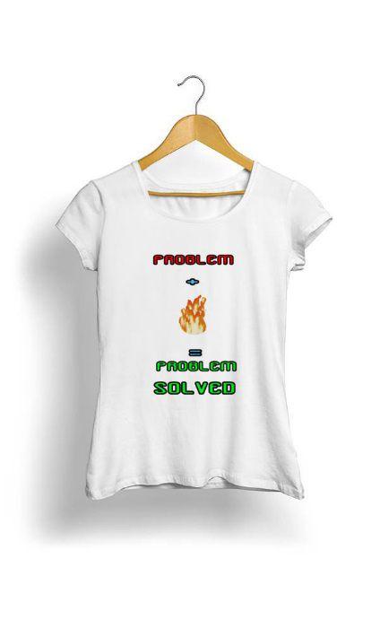 Camiseta Feminina Tropicalli Problem